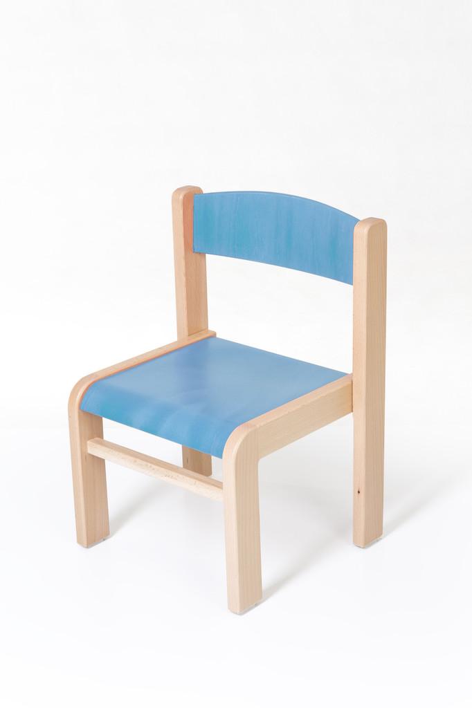 f729f44777f95 Detská stolička LUCA s tvarovanou opierkou chrbta, buková ...